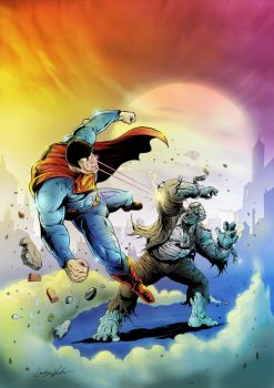 Injustice: Superman Vs Grundy by puggdogg