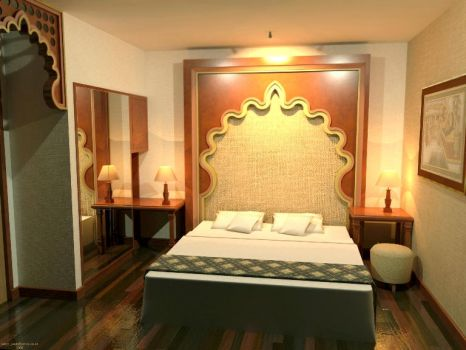 Interior Hotel - India Style by crearptive