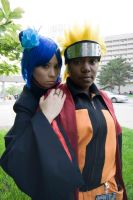 Acen 2010 : Naruto and Konan by roxastuskiomi