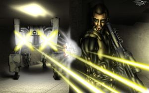 Deus Ex - Human Revolution by Unreal-Forever