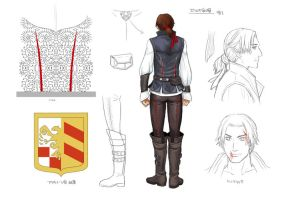 Ezio_Florentine Noble Attire_b by kurono16