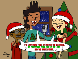 Mike and Friends singing Christmas Time by DJgames