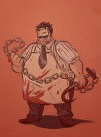 Roadhog Leatherface Skin by Fishmas