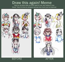 Now and Then Meme by Zeruma