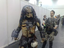 predator and marine by Vanwolfe