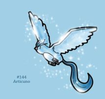 #144 - Articuno by FrostTechnology