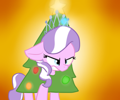 Oh, Christmas Tr--Diamond Tiara?? by Littleblackraencloud