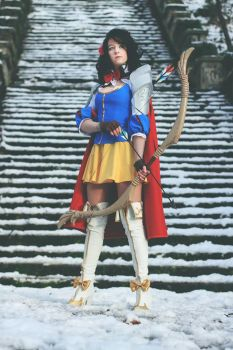 Snow white warrior of the seven arrows by Sadyna by Sethopia