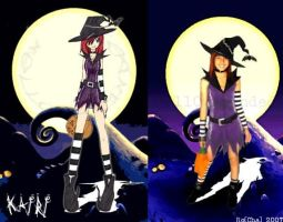 Halloween Town Kairi Cosplay 2 by mell0w-m1nded