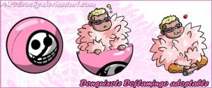 Doflamingo Squiby Pet by Mr0Crocky
