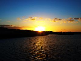 Howth Sunset 2 by superflyninja
