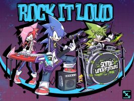 underground rock it loud by addixtion21