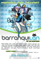 +Afiche BarranquLAN+ by MYKProject