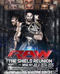 THE SHIELD REUNION 2015 Rollins Ambrose Reigns by Tripleh021