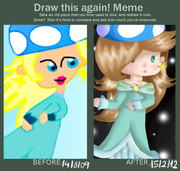 Draw this again! by PikaPauline