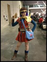 Lucca Chrono Trigger Cosplay by Mink-the-Satyr