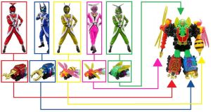 Power Rangers Insect Swarm by Greencosmos80