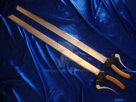 Attack on Titan Swords by Dekokatana