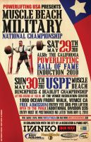 Power Lifting Event Poster by cyphaflip