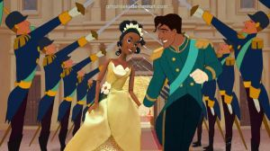 Tiana and Naveen by Amishkeki