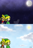 Ask Tetra n Link BG (Tumblr) by Angelstar7