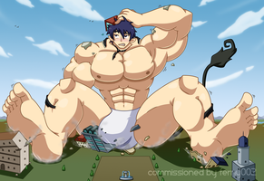 Commission - Rin Okumura by mindloop