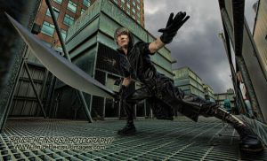 Noctis On A Roof by Brucer007