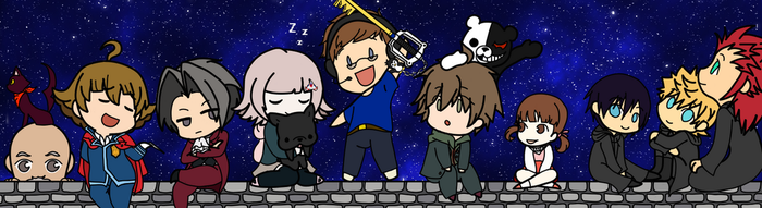 Edge of the Sky (NicoB Banner Contest Entry) by OtaGamerKorin