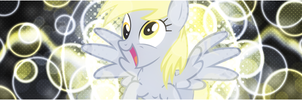 [Banner] Derpy's Happy Bubbles by Paradigm-Zero