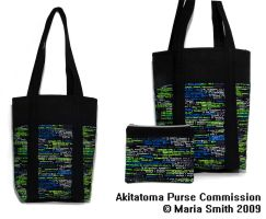 Akitatoma Commission Bag by chat-noir