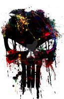 Punisher T-shirt by j2Artist