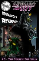 Reynard City Issue five cover by MrHades