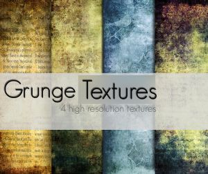 Hi Resolution Grunge Textures Collection.