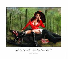 Affraid of the Big Bad Wolf? by montalvo-mike