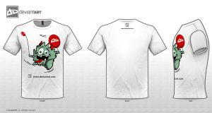 Cute Monster T-Shirt by Tonnio