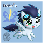 Chibi Soarin by Veemonsito