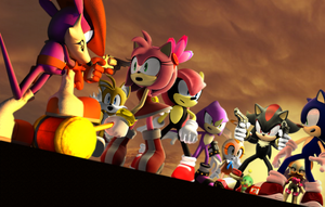 The Sunset Showdown by eggmanteen