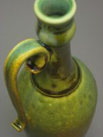 Bottle with Tarnished Copper Glaze by pedersonpottery