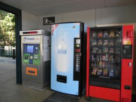 Busway Vending Machines by Zomit