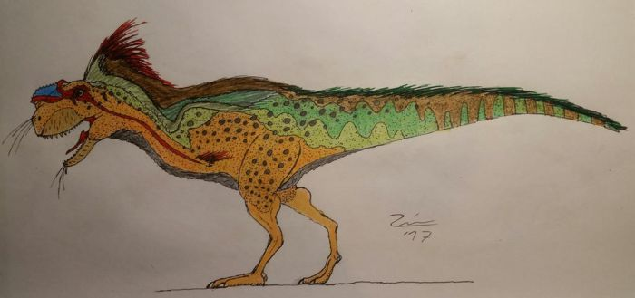 Rugops primus (Prehistoric Pug) by TheDubstepAddict