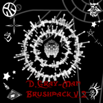 D.gray-man brushpack v2 by Goldarcanine
