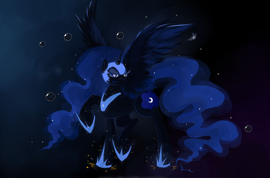 MLP Nightmare Moon by Schwarz-one
