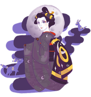 Umbreon Maiko by GeezGeorge