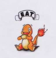 EAT - Charmander by GTS257-CT