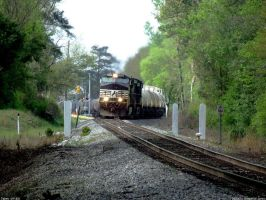 NS 9414 Around the cruve by Joseph-W-Johns
