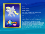 Sonic X: FIU eye-catch card: Derpy Hooves by bvge