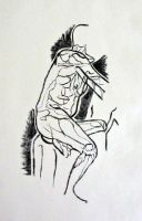 dry point by TheNecco