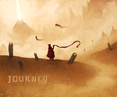 Journey Wallpaper by Cleomatrin