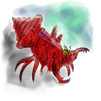 Crazy Crab Monster Thing by Labyrinther