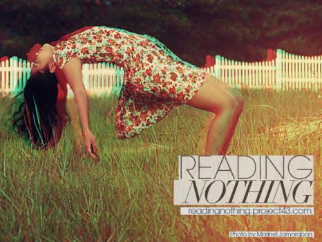 WEBTEASER - READING NOTHING AD by wombologist